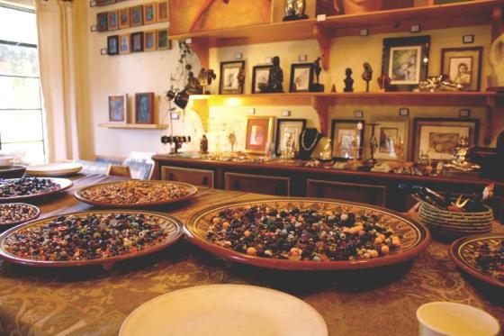 jewelry class, handmade jewelry, beads, rancho la puerta, health spa, health retreat