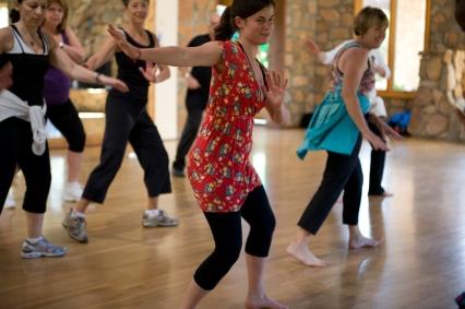 conscious dance, dance, dancing, dance class, rancho la puerta, health retreat ,health spa