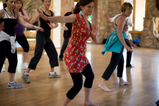 conscious dance, dance, dancing, dance class, rancho la puerta, health retreat ,health spa