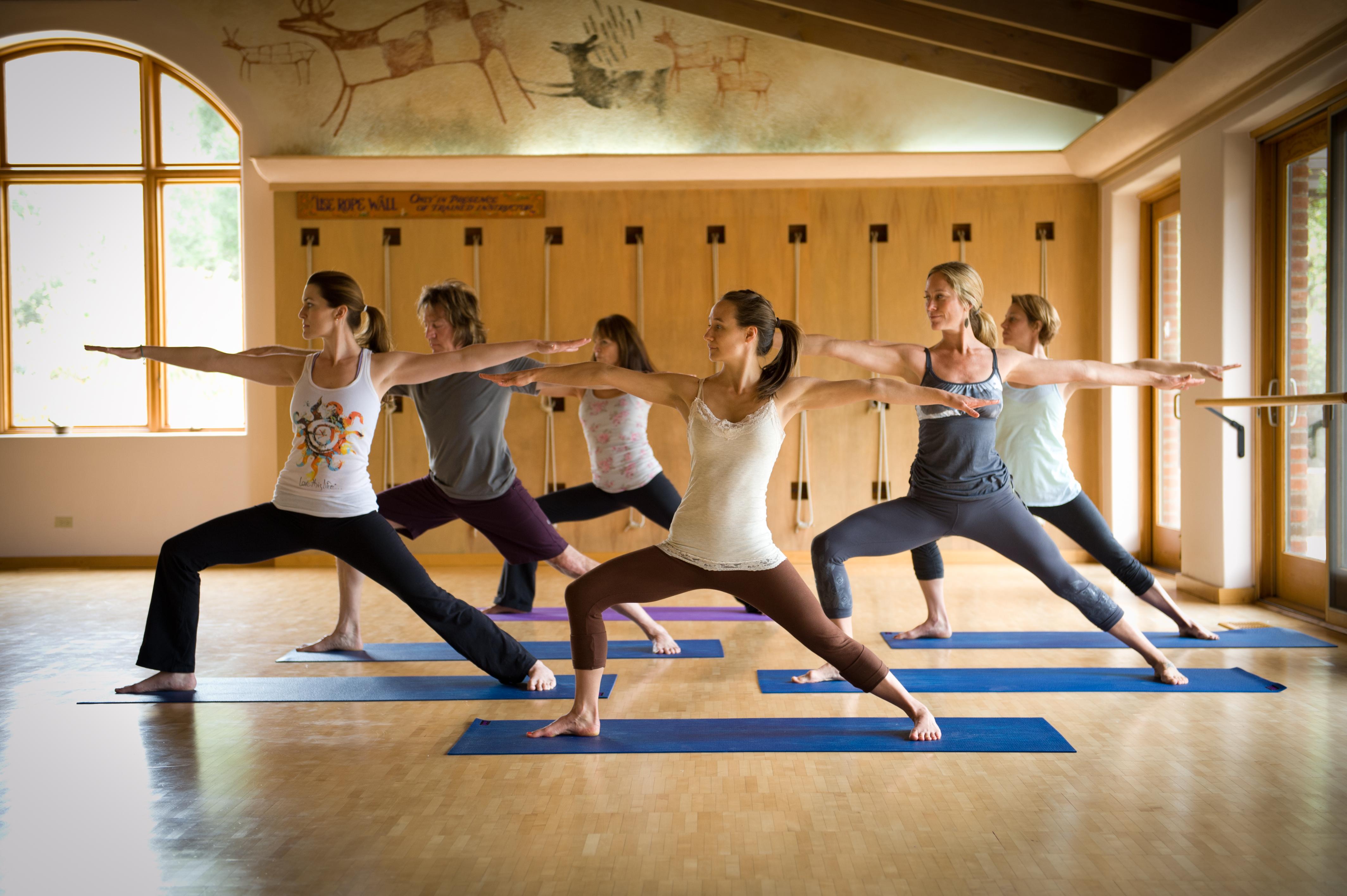 Ashtanga Yoga With Roswitha Kima Smale Rancho La Puerta