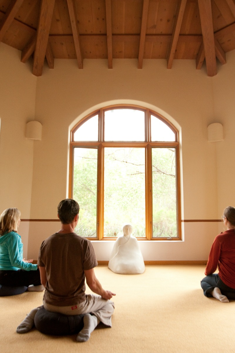 group meditation, health retreat, health spa, meditation, swami