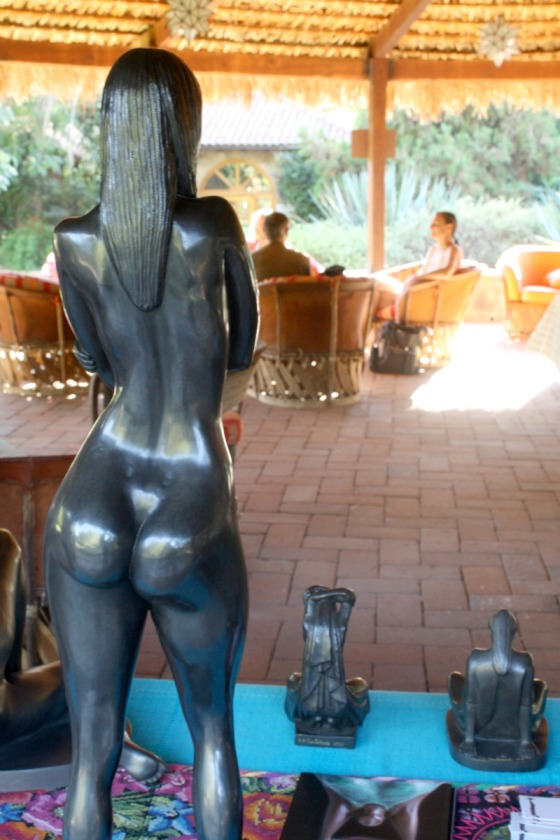 art, sculpture, sculpting, Victor Hugo Castaneda, health retreat, health spa, destination spa