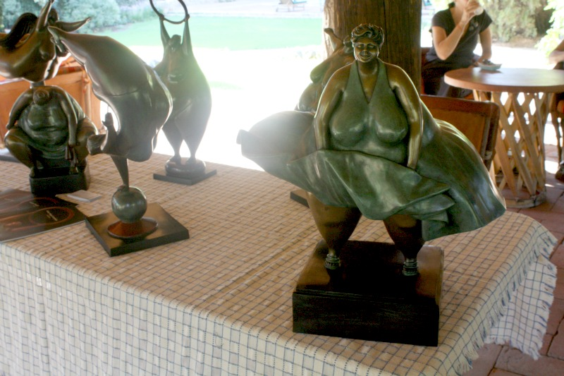 art, sculpture, sculpting, Victor Hugo Castaneda, health retreat, health spa, destination spa