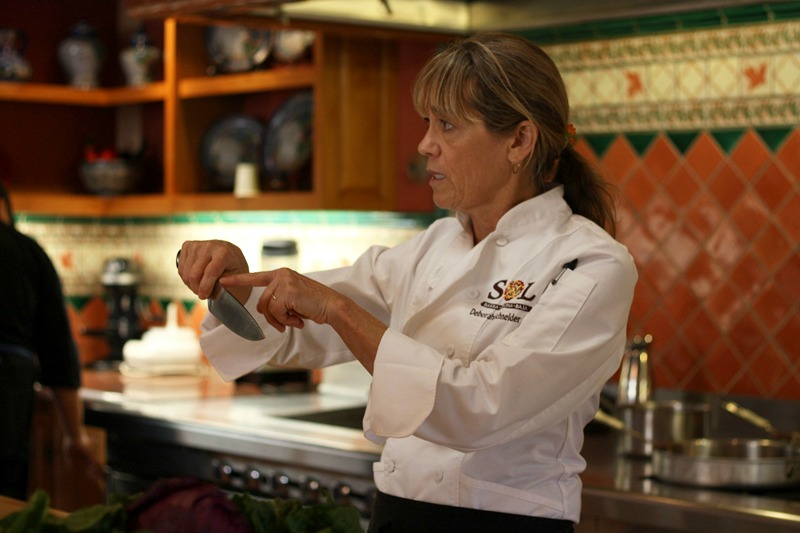 cooking class, cooking school, chef deborah schneider, la cocina que canta, spa retreat, destination spa, spa retreat, health retreat, organic garden, organic farm