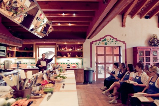 cooking class, la cocina que canta, rancho la puerta