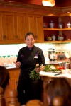 Our own Chef Denise Roa introducing the class.